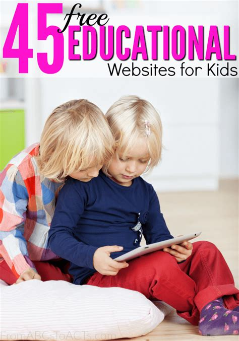 educational websites  kids  abcs  acts