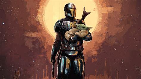 The Mandalorian, Baby Yoda, Art, 4K, #7.758 Wallpaper