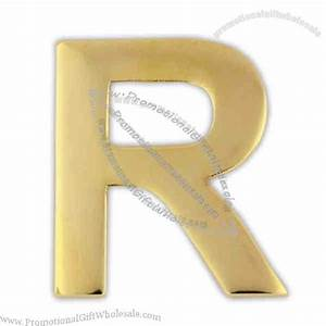 letter r lapel pin cheap price 346380544 With letter pins