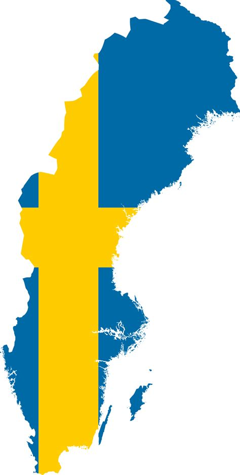 File:Flag-Map of Sweden.svg - Wikimedia Commons