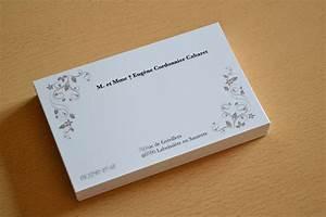 Grande Carte de visite Particulier avec Enveloppe Pas Cher Dès 12 50€