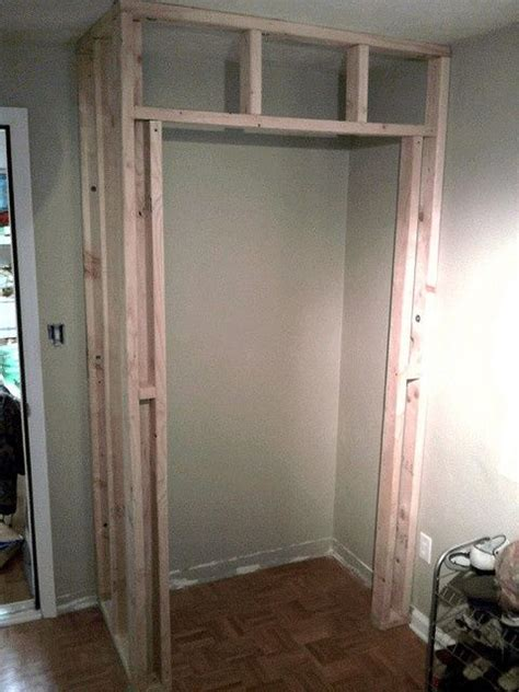 how to create a closet in a room without one pin by maggie bags on diy crafts and household tips pinterest