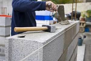 Prix Mur Parpaing Cloture : monter un mur en parpaing prix de pose devis b ton ~ Dailycaller-alerts.com Idées de Décoration