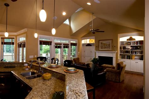 Design Ideas Rectangle Living Room Of Great Room Layout