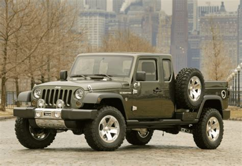 jeep concept truck gladiator jeep gladiator pickup truck concept pictures