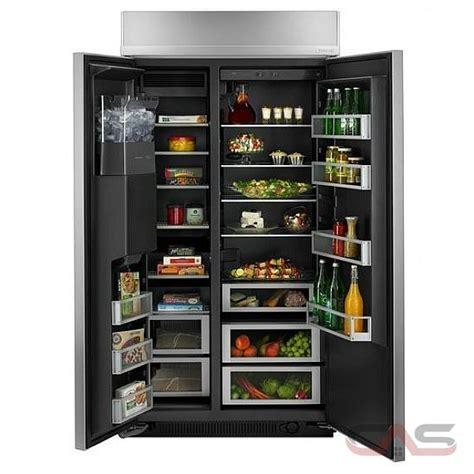 jenn air jsppdude side  side refrigerator  width
