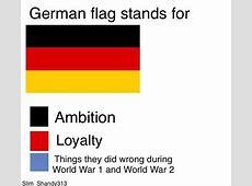 German Flag Stands For Flag Color Representation