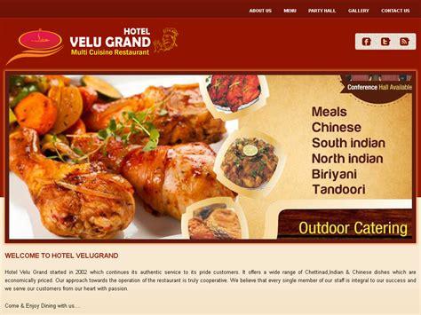 what is multi cuisine restaurant web development company coimbatore india web design