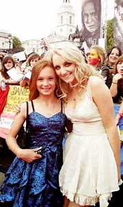 Evanna Lynch and Ellie Darcey-Alden (Young Lily Evans ...