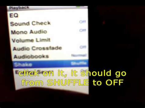 how to turn shuffle on iphone how to turn shake to shuffle on ipod nano 5g or 4g