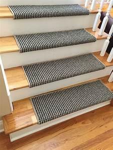 Treppen Teppich Läufer : teppich treppen stufenmatten idee einfach kleben ~ Michelbontemps.com Haus und Dekorationen