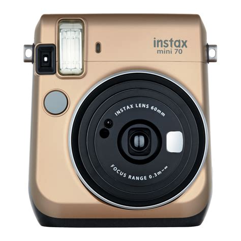 with instant photo fujifilm instax mini 70 or