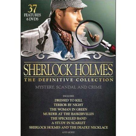 sherlock holmes collection definitive movies dvd