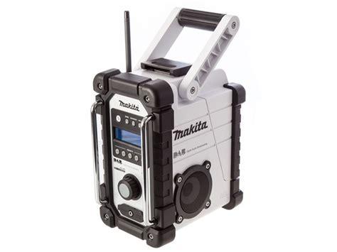 makita radio dab makita dmr104w white site dab radio