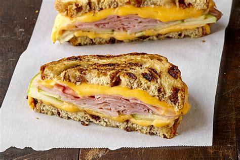 Sandwich Au Fromage Fondant Avec - liste recette sandwich au fromage fondant avec jambon et pomme salewhale ca