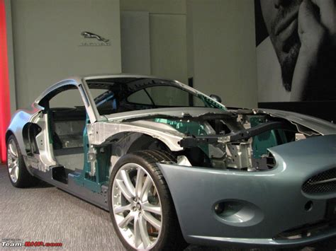 jaguar xk body structure boron extrication