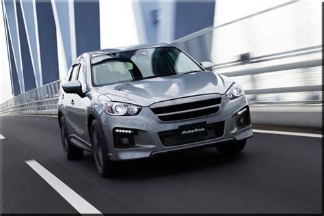 Mazda Cx 5 Modification by Autoexe Mazda Cx 5 Ke Modification Car Performance