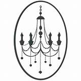 Candelabra Chandelier Template Chandeliers Crowns Candelabro Coloring Templates Shabby Chic Lighting sketch template