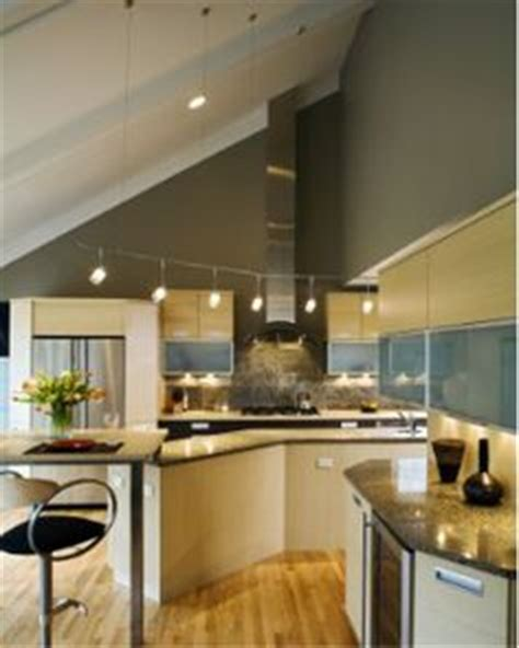 track lighting for vaulted kitchen ceiling 1000 images about track stretch wire lighting on 9494