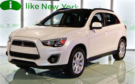 2013 mitsubishi outlander 2013 mitsubishi outlander sport first look 2012 new york
