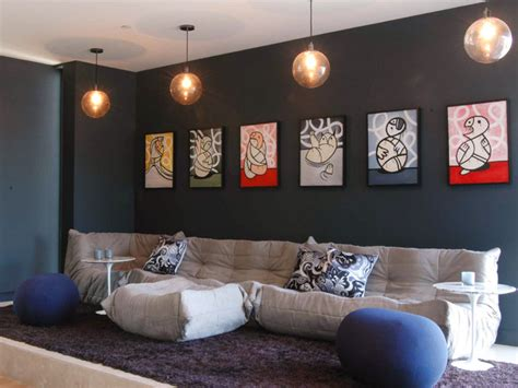 tasteful contemporary wall art ideas  give  lively spirit   living room