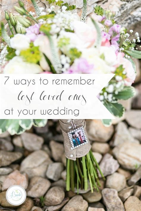 7 Ways To Remember Lost Loved Ones At Your Wedding » Hill