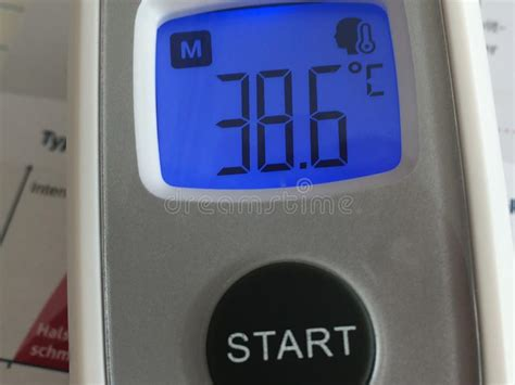 Thermometer showing Fever stock photo. Image of medical ...
