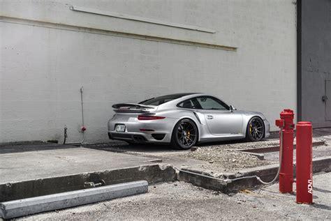911 Turbo S Wheels by Silver Porsche 911 Turbo S Adv10 M V2 Cs Series