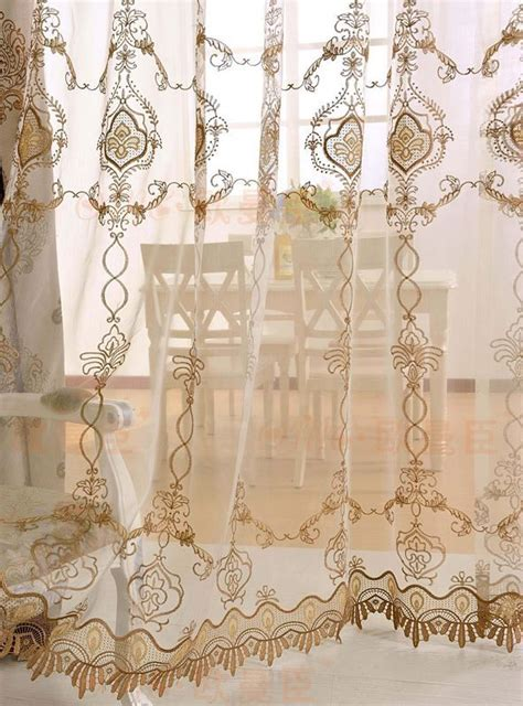 17 best images about sheer curtains on damask