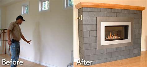 installing a gas fireplace insert fireplace installations charlottesville richmond va