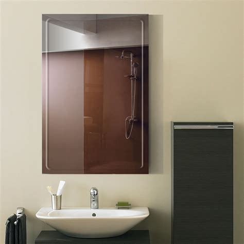Rectangle Bathroom Mirrors by 36 X 24 In Wall Mounted Rectangle Bathroom Mirror Dk Od