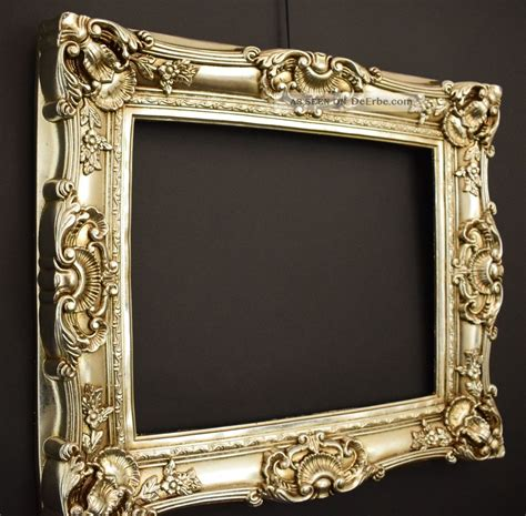 bilderrahmen 60 x 40 bilderrahmen barock rokoko stil 40 x 50 cm 60x70 cm