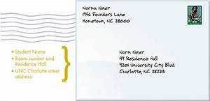 Letters Auxiliary Services UNC Charlotte