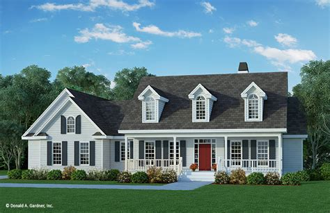 House Plan The Calhoun By Donald A. Gardner Architects