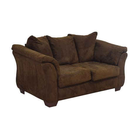 Brown Loveseats by 40 Furniture Furniture Two Cushion
