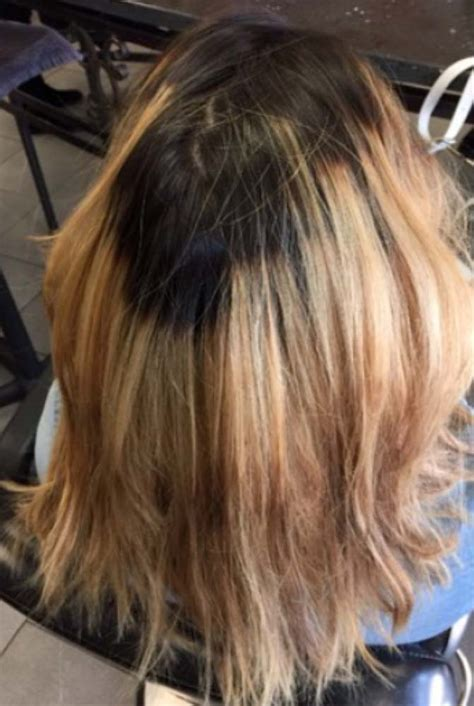 Hair Color Emergency Ombré Gone Wrong