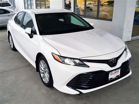 New 2018 Toyota Camry Le 4 Door Car In Kelowna, Bc 8ca4500