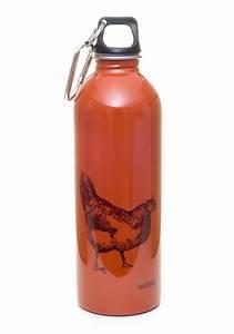 EarthLust 1 Liter Rooster Designer Stainless Steel Water ...