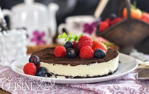 amour de cuisine fr cheesecake oreo sans cuisson amour de cuisine