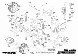 Traxxas Rustler Vxl Parts Diagram  U2013 Traxxas Slash 2wd
