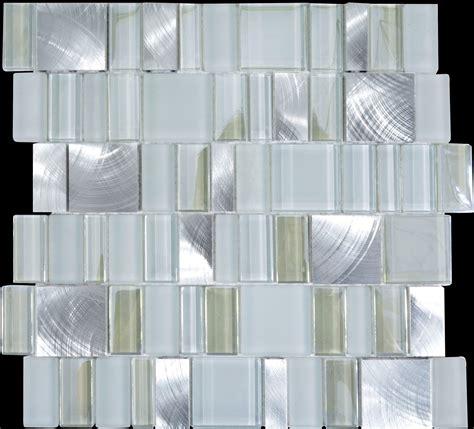 metal  glass tile backsplash cheap brush aluminum tiles