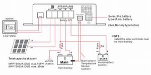 Wiring Diagram Of Solar Panel Up Battery Load Fan