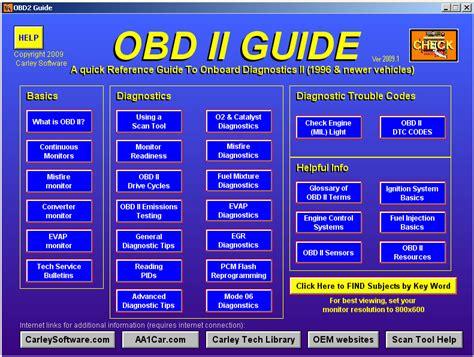 on board diagnostic system 1995 honda accord parental controls onboard diagnostic ii obd ii help