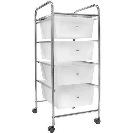 Storage Cart With Drawers And Wheels by Sorbus 4 Drawer Organizer Rolling Cart With Storage Bins