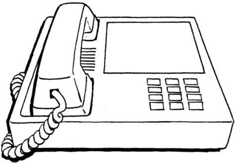 coloriage bureau coloriage téléphone de bureau coloriages à imprimer