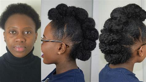 Natural Black Hair Updo Tutorials