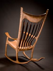Rocking Chairs and Solid Wood Fine Furniture Hand made in