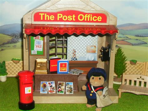 bureau post it the post office sylvanian families