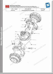 Xcmg Zl50a 2 Drive Axle Spare Parts Eng Chn