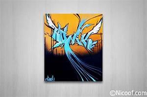 Toile Street Art : toiles graffitis amoor ~ Teatrodelosmanantiales.com Idées de Décoration